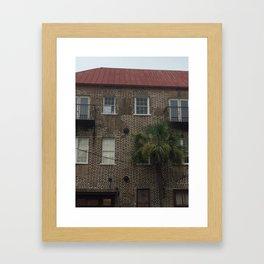 Downtown Charleston Framed Art Print