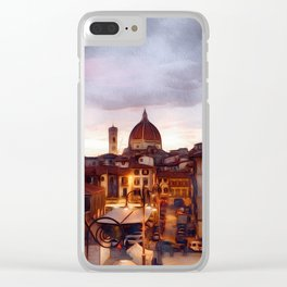 An Evening in Florence Clear iPhone Case