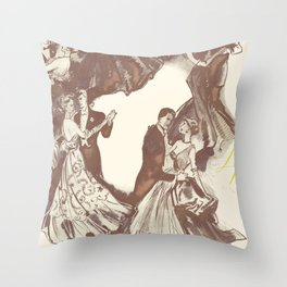 Having A Ball ! Throw Pillow