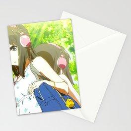 Headphones Anime Stationery Cards