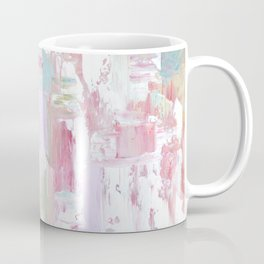 Pink Abstract Painting Coffee Mug