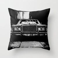 ford Throw Pillows featuring Ford by RS4S6