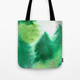 Forest Blanket Tote Bag