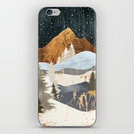 Winter Stars iPhone Skin