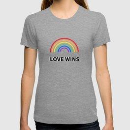 LOVE WINS LGBTQ pride T-shirt