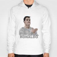 ronaldo Hoodies featuring Cristiano Ronaldo by siddick49