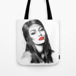 Gigi Hadid Tote Bag