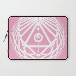 Radiant Abundance (pink-white) Laptop Sleeve