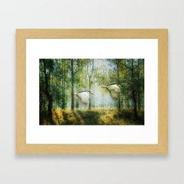 Magical Forests Impressionism Framed Art Print