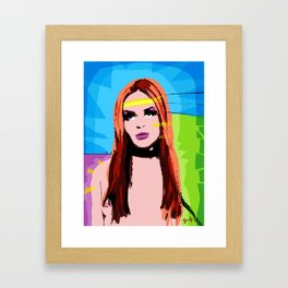 From My Heart To Yours. Framed Art Print
