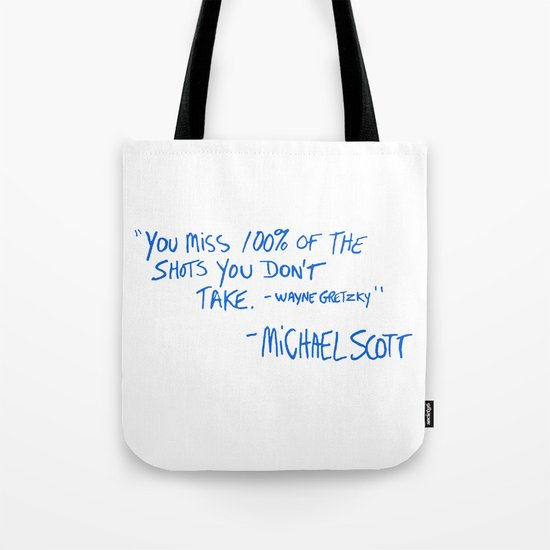 The Office Quote Tote Bag