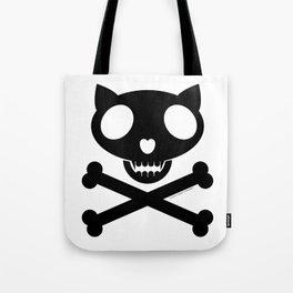 CuriosityKillz skull logo Tote Bag