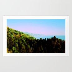 Big Sur, California Art Print