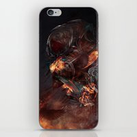 atheist iPhone & iPod Skins featuring Thoughts of A Dying Atheist by Matteus Faria