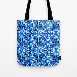 Sevilla - Spanish Tile Tote Bag