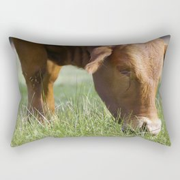 Ellen Grazing @ Happy Hooves Farm Sanctuary Australia Rectangular Pillow