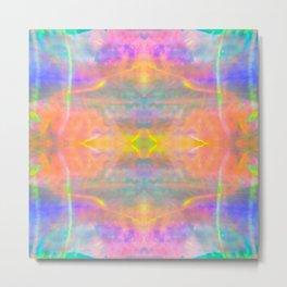 Prisms Play of Light 2 Mandala Metal Print