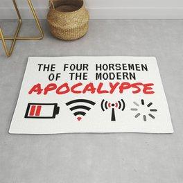 The Four Horsemen Of The Modern Apocalypse Rug