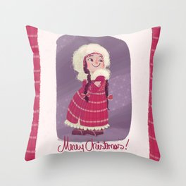 Christmas! Throw Pillow