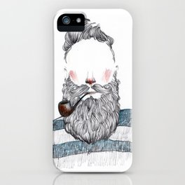 Sailor with the sky ahead. iPhone Case