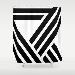 Hello VII Shower Curtain