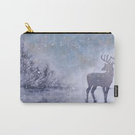 Winter Stag Carry-All Pouch