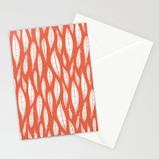 Quail Feathers (Poppy) Stationery Cards