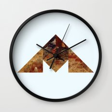 COAL MOUNTAIN Wall Clock