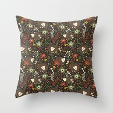 Cute Hedgehogs Throw Pillow