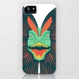 Dilophosaurus iPhone Case