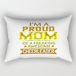 I'M A PROUD CHEERLEADER's MOM Rectangular Pillow