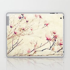 Spring Botanical - Tulip Tree, Magnolia × soulangeana II Laptop & iPad Skin