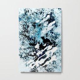 Refreshing Metal Print