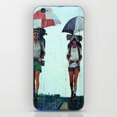 Rain Hiking iPhone & iPod Skin