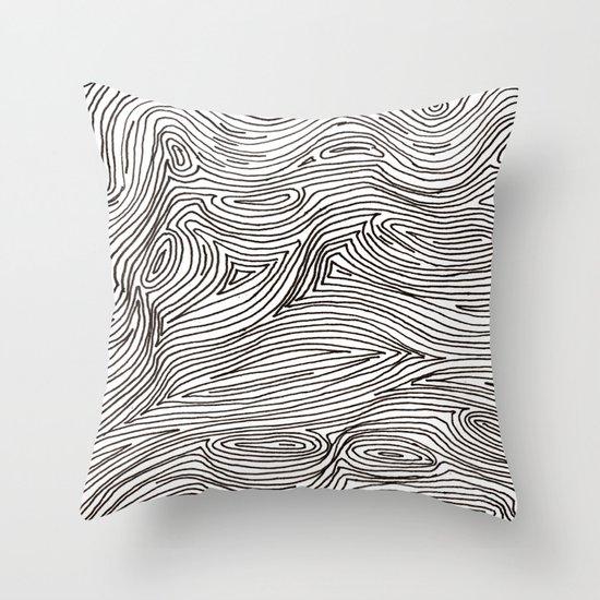 brainmap Throw Pillow