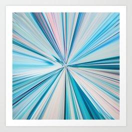 426 - Abstract grass design Art Print