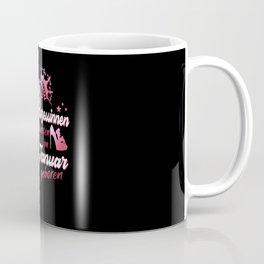 Prinzessin im Januar geboren Mädchen Geburtstag Coffee Mug