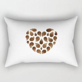 Hedgehog Heart Rectangular Pillow