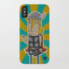 004_thor iPhone X Slim Case