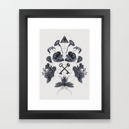 The Panoply Plate 04 Framed Art Print