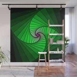 Spirale en vert, 2140b Wall Mural