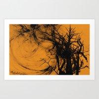 wild tree Art Print