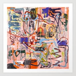 Shamanic Painting 02 Art Print