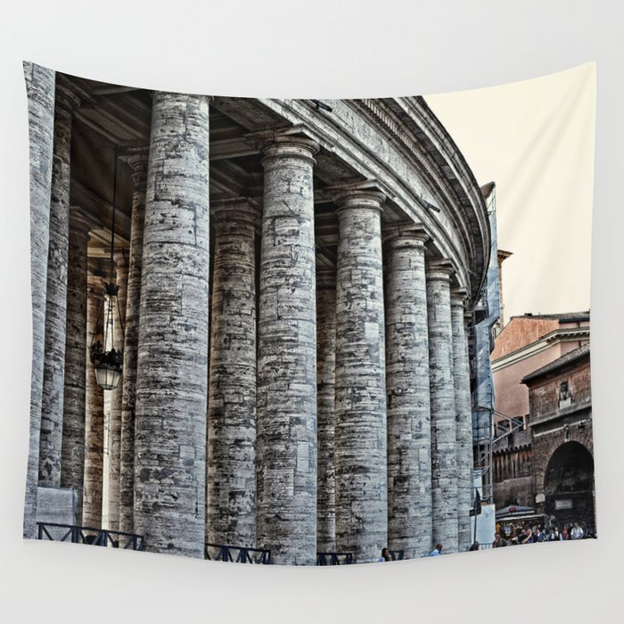 Vatican City Marble Wall Tapestry