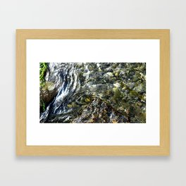 Rock & Ripples Framed Art Print