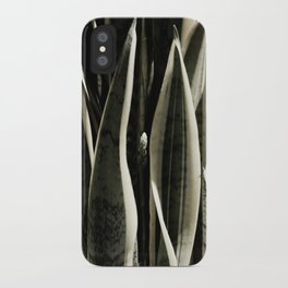 Reaching up iPhone Case