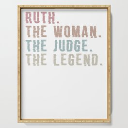 Ruth. The Woman. The Judge. Legend Ugly Christmas sweatshirt T-Shirt View in Uploader Serving Tray
