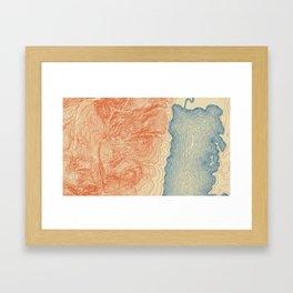 Jackson Lake Framed Art Print
