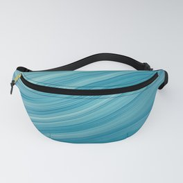 Elegant Blue Waves Fanny Pack