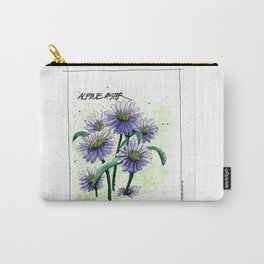 Alpine Aster Carry-All Pouch